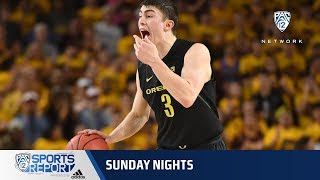 Highlights: Oregon men's basketball gets thrilling upset-win over No. 11 Arizona State