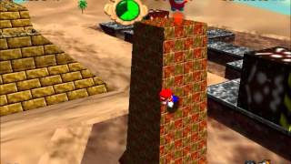 SM64 - Free Flying for 8 Red Coins - 0x A Presses