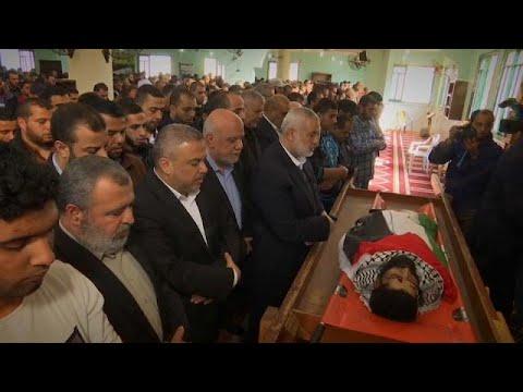 Milhares de palestinianos em funerais de manifestantes contra medida de Trump