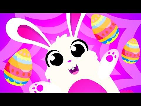 🔴 Peekaboo Bunny! Hide and Seek, Chocolate & Egg Game by Little Angel Song & Music - Прикольное видео онлайн