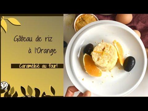 gÂteau-de-riz-À-l'orange---caramÉlisÉ-au-four