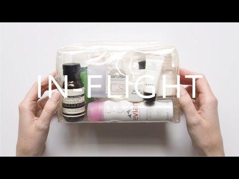 In-Flight Skincare Routine | My Travel Essentials