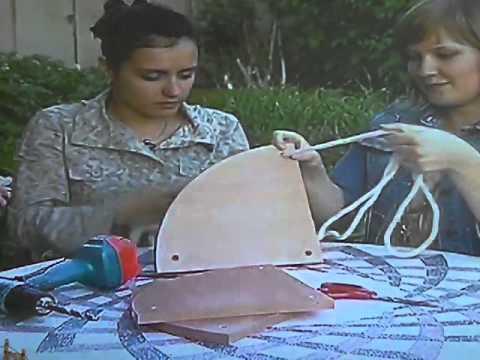 видео: угловая полка для цветов
