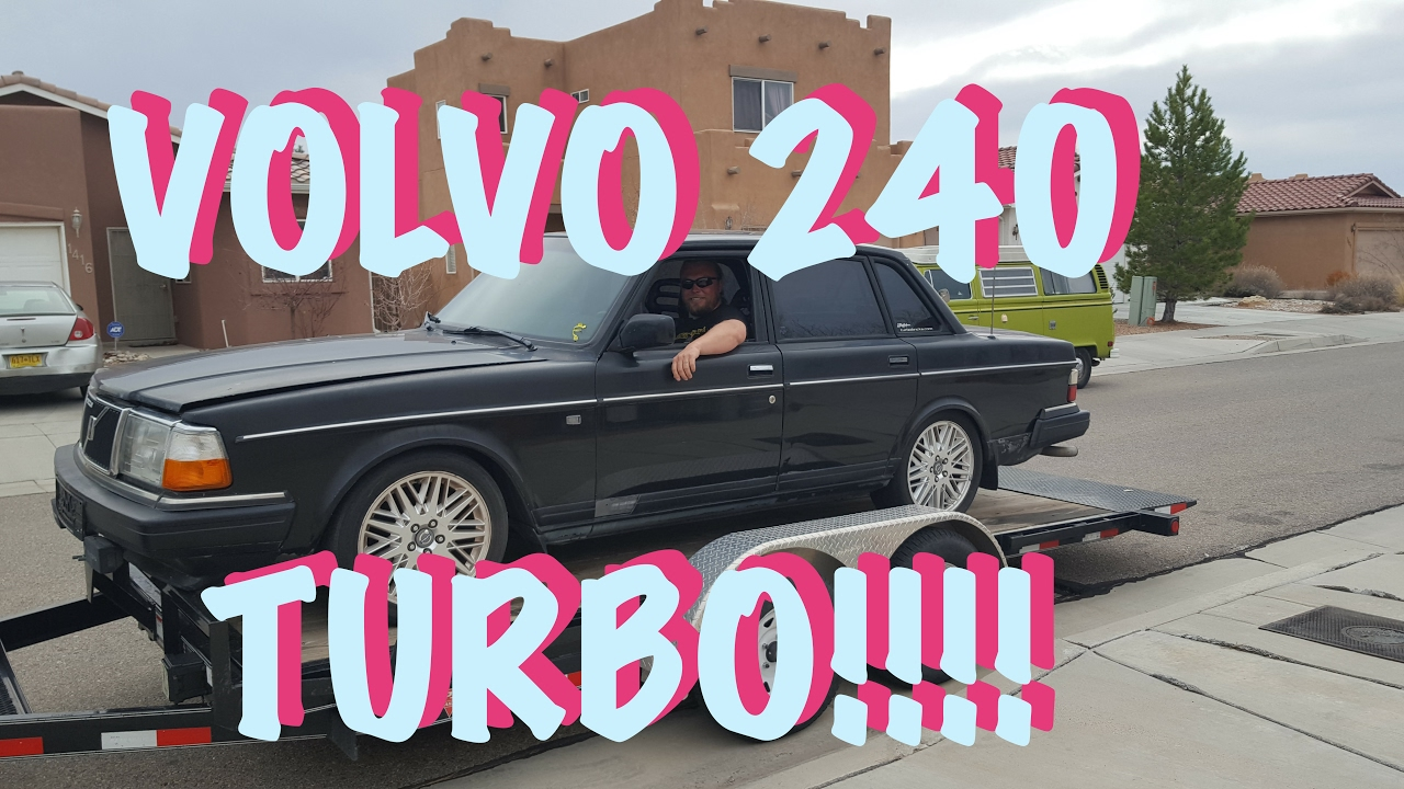 🇸🇪 We bought a Volvo 240 Turbo!