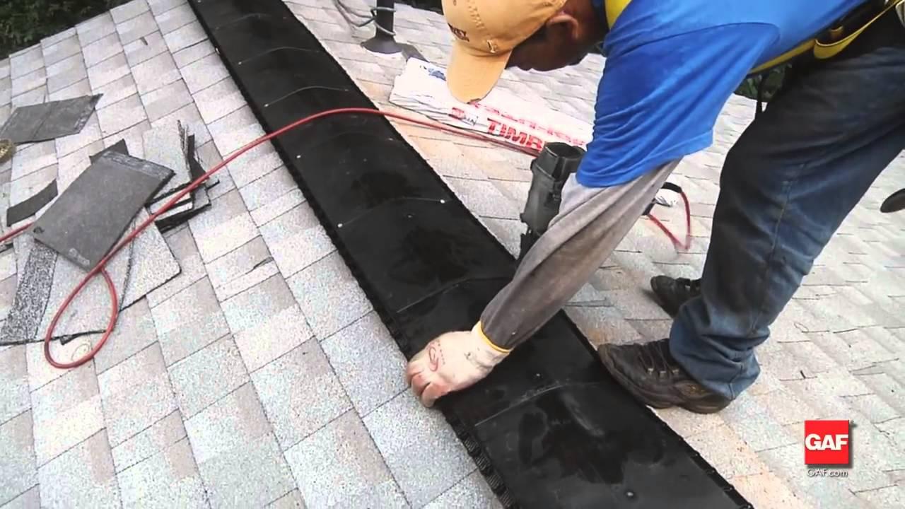 Installing Gaf Cobra 174 Ridge Vents And Attic Ventilation