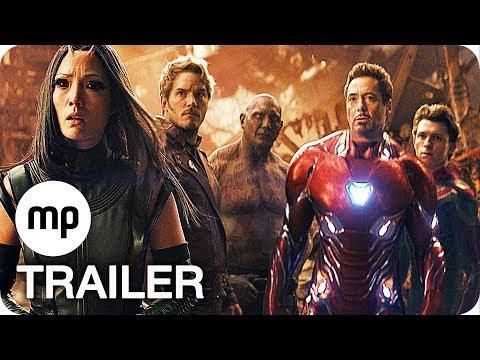 Avengers 3 Infinity War Featurette & Trailer Deutsch German (2018)