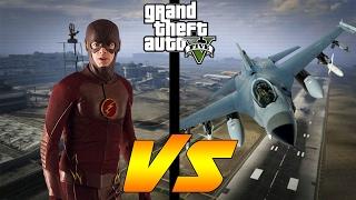 THE FLASH vs SUPER SONIC HYDRA JET! (RACE)