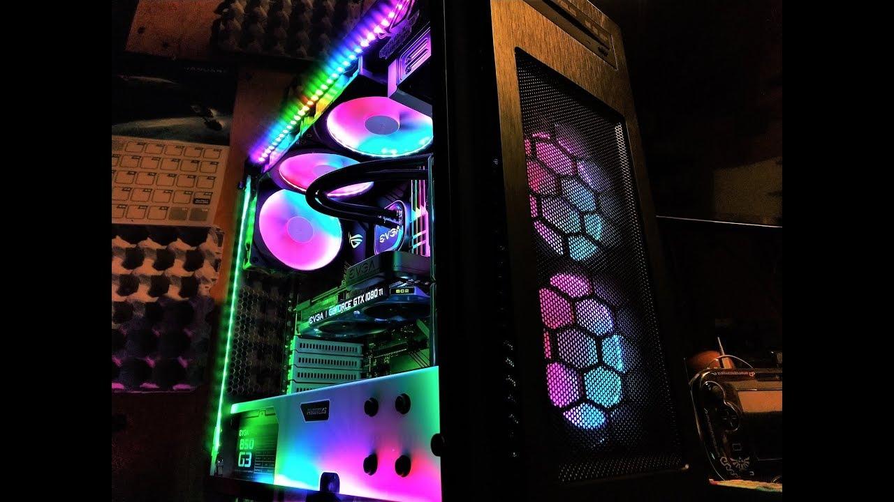 Asus Aura Sync Strix Z390-E / G Skill TridentZ / Phanteks Digital RGB / ROG  Terminal