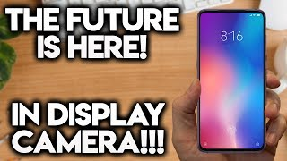 CAMERAS INSIDE THE DISPLAY! - This Is Insane!
