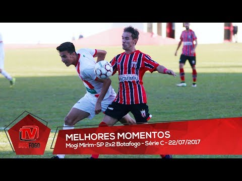 MELHORES MOMENTOS: Mogi Mirim 2x2 Botafogo - Série C - 22/07/2017