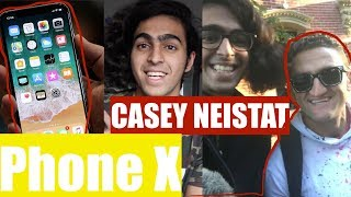 Hanging out with Casey Neistat and the iPhone X