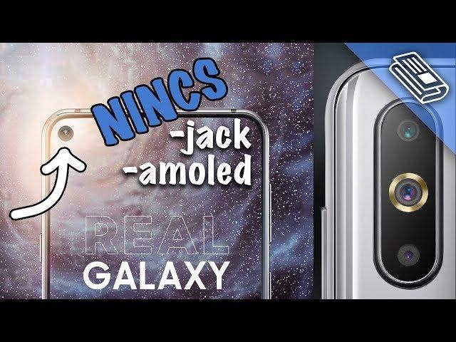 Itt az első 'lyukas' mobil!  Samsung Galaxy A8s