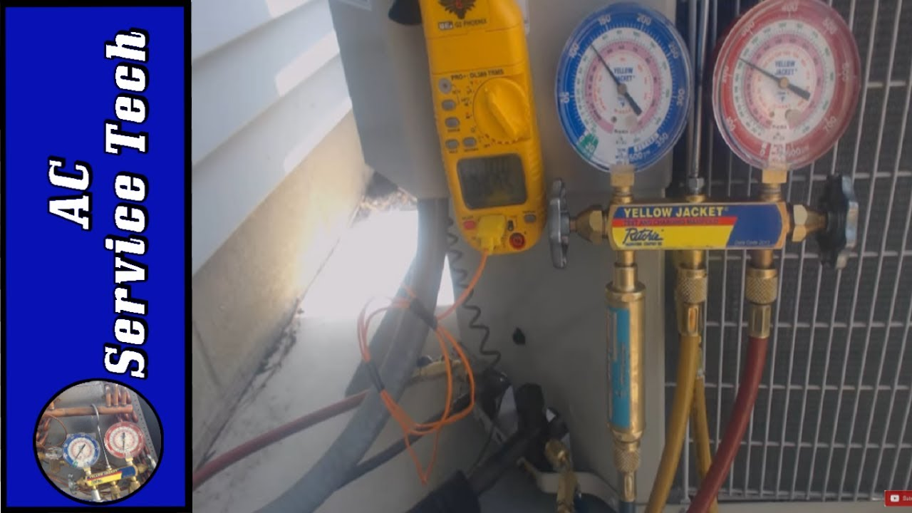 Ac Disconnect Wiring Measuring Refrigerant Pressure Amp Temperature In An Air