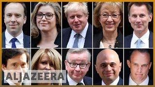 Gambar cover UK Conservative Party election: First round of voting on Thursday