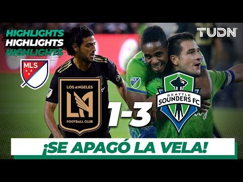 Resumen y goles | Los Ángeles FC 1 - 3 Seattle Sunders | MLS Cup - Western Conf. Final
