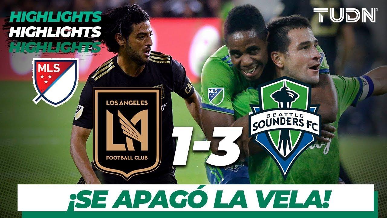 Resumen y goles   Los Ángeles FC 1 - 3 Seattle Sunders   MLS Cup - Western Conf. Final