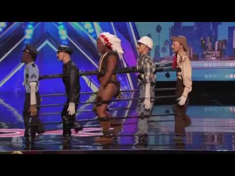America's Got Talent - Christopher - Village People - YMCA