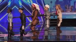 America's Got Talent - Christopher - Village People - YMCA