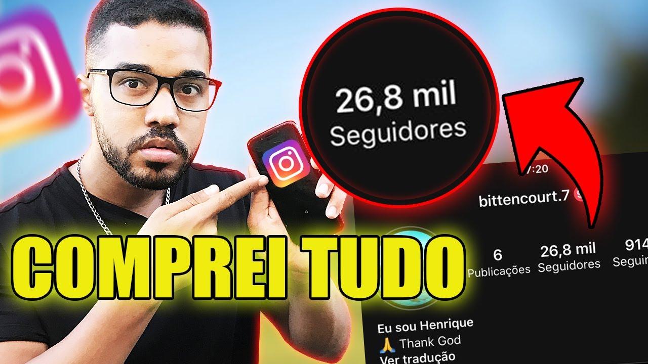 como comprar instagram com muitos seguidores