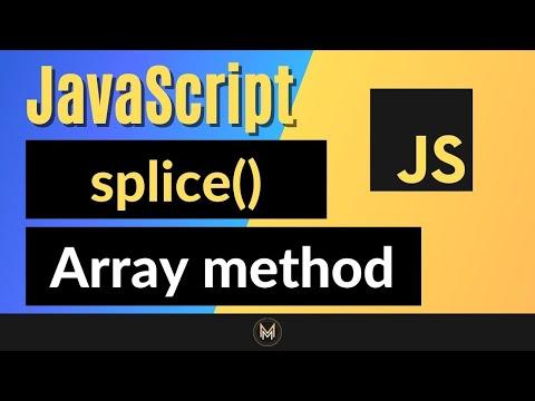 JavaScript splice Method   Complete JS Array Methods Series