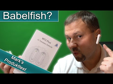 Babelfish - Wird Jetzt Science Fiction Real? Sprachübersetzer -Translator Smart WT2 40