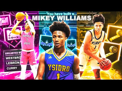 THE MIKEY WILLIAMS BUILD IS THE BEST GUARD BUILD IN THE GAME. (CONTACT DUNKS, SPEEDBOOSTING, GREENS)