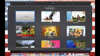 Podcasting with iMovie