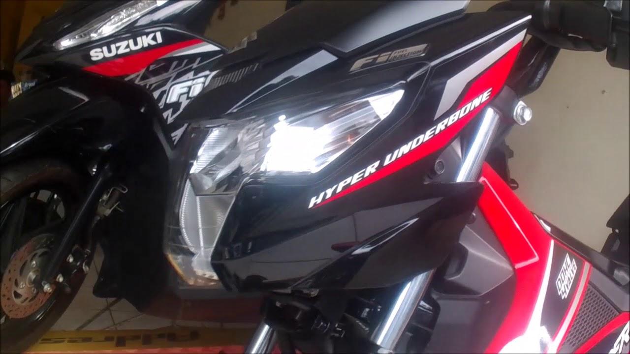 The Best Red Suzuki Raider 150 Fi