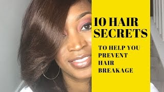 10 Hair Secrets That Will Help You Prevent Breakage