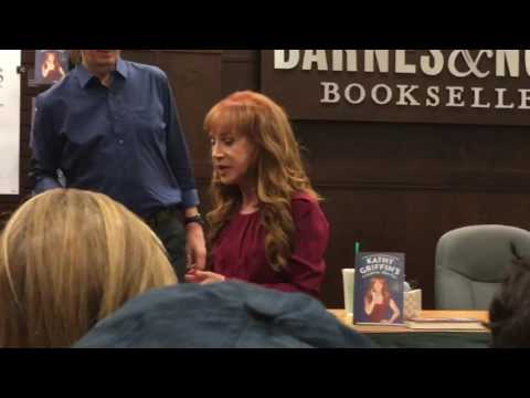 Kathy Griffin and her mom Maggie arrive at Book Signing at Barnes & Noble Los Angeles The Grove