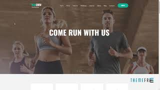 RunCrew Running Club, Marathon and Sports WordPress Theme      Jim Sl