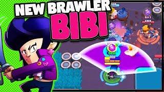 UPDATE SNEAK PEEK   New Brawler BIBI   New Skins, Environment! Retropolis Brawl Stars