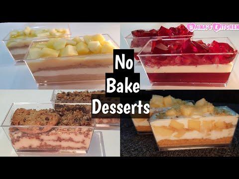 No Bake Desserts   No Bake Recipes   Desserts 2019   Dessert Recipes   Christmas Dessert Recipes