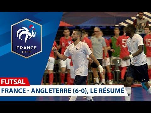Futsal, France-Angleterre (6-0), le résumé I FFF 2018-2019