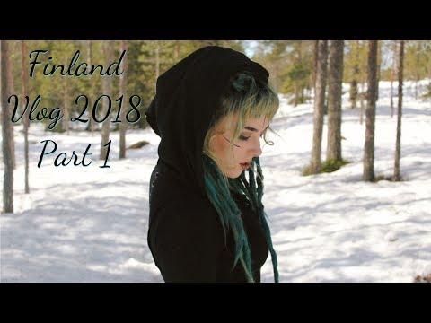 Trip to Rovaniemi Finland, 2018 - Part 1
