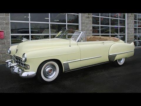 1948 Cadillac Series 62 Convertible - YouTube