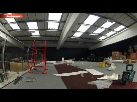 Absolute Music: Five Month Time Lapse Of The Construction Of The New Store