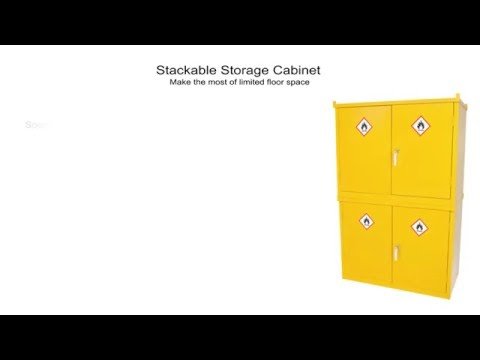 Stackable Storage Cabinet | Seton UK