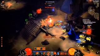 Diablo 3 - solo Barbarian - MP5 -Act 1-3 keyruns - sprint-hammer-OP-WotB skills - patch 1.0.7