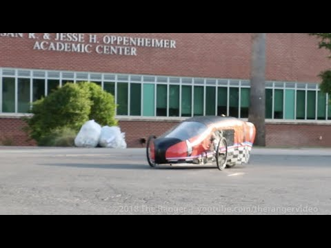 Motorsport unveiling of hydrogen fuel cell vehicle