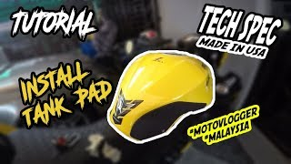 #54 Tutorial Install Tank Pad | Tech Spec | Ninja 250/300, Z250/300