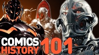 Avengers 2: Who Is Ultron - Comics History 101
