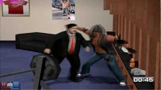 WWE Smack down vs Raw 2011™ PC gameplay: Paul Bearer in Backstage Brawl (Undertaker