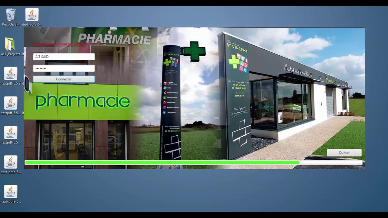 application de gestion de pharmacie stock et vente youtube. Black Bedroom Furniture Sets. Home Design Ideas