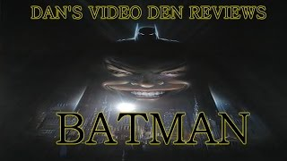 Batman 1989 [Review] - Dan's Video Den Ep.2