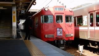 【ぎふ鉄道博物館系統板】名鉄6000系6006f 急行河和行き 犬山駅発車