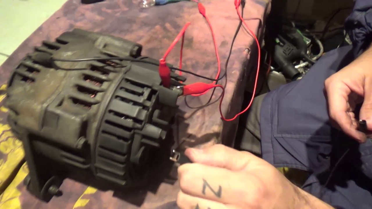 How Not To Test A Car Alternator Youtube Jeep Field Wiring