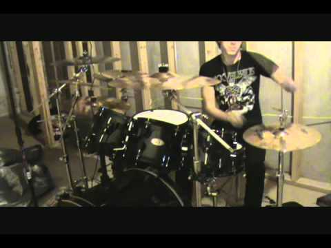 Rebel Love Song Drum Cover-Black Veil Brides