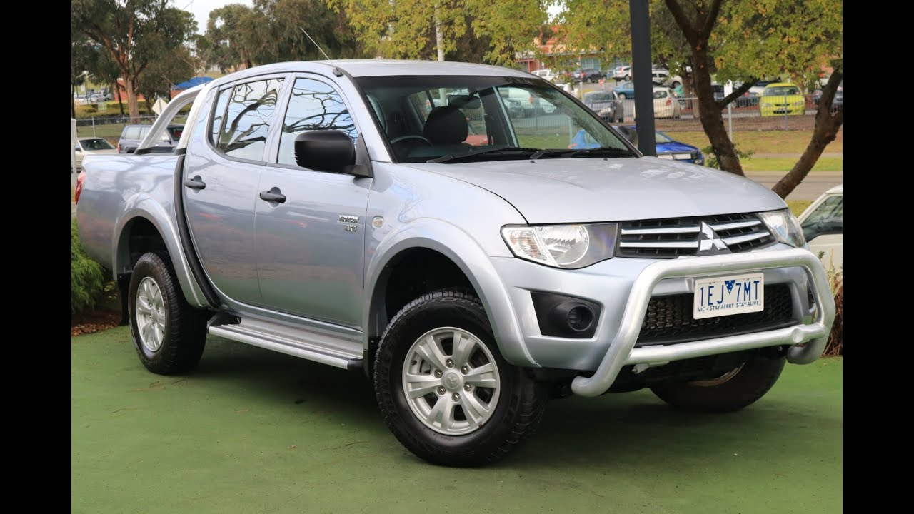 b6756 2011 mitsubishi triton gl r mn manual 4x4 my11 double cab rh youtube com
