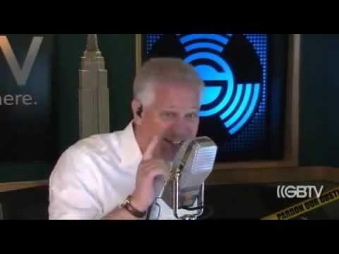 Glenn Beck freaking over Gay Barbarian Horde Glitters Bachmann Clinic